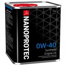 NANOPROTEC  0W-40  HC-Synthetic