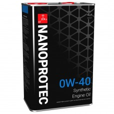 Моторное масло NANOPROTEC 0W-40 HC-Synthetic