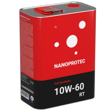 Масло моторное NANOPROTEC RT 10W-60 Full Synthetic