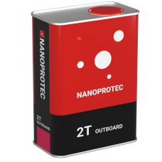 Масло двухтактное для лодок NANOPROTEC 2T OUTBOARD
