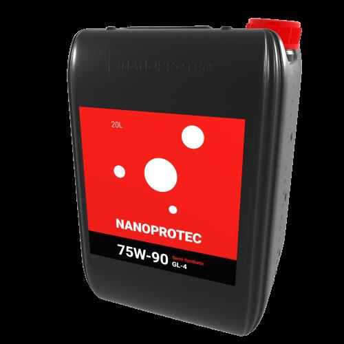 NANOPROTEC  75W-90 GL-4  Semi-Synthetic