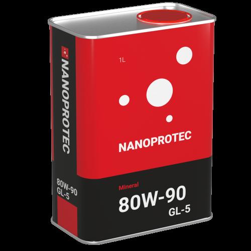 NANOPROTEC  80W-90 GL-5  Mineral