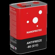 Охлаждающая жидкость NANOPROTEC ANTIFREEZE -80 (G12)