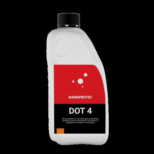 Тормозная жидкость NANOPROTEC DOT4