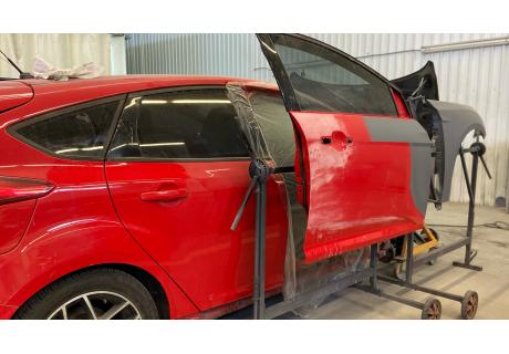 Локальная покраска авто: основные этапы работ